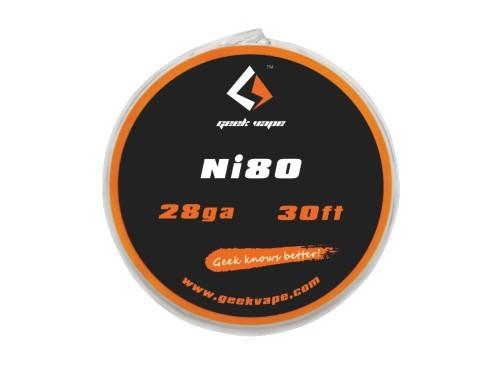 GeekVape Ni80 Wire 28ga