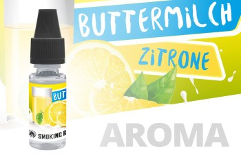Smoking Bull Buttermilch Zitrone 10ml