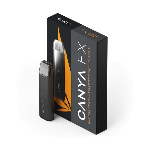 CANYA FX Starterkit 5% CBD Pod Nothern Lights
